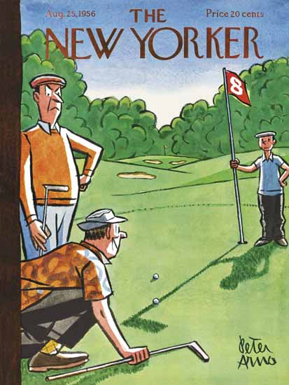 Peter Arno The New Yorker 1956_08_25 Copyright | The New Yorker Graphic Art Covers 1946-1970