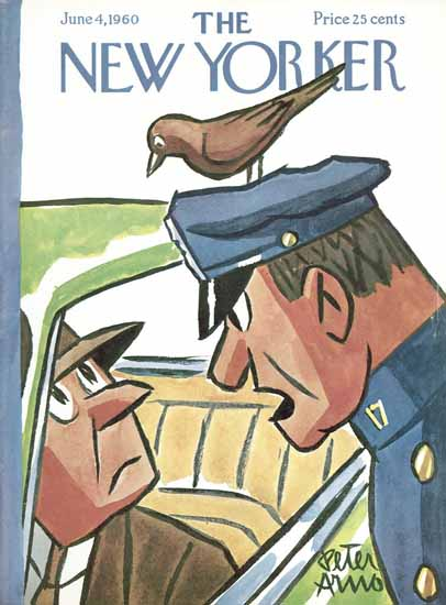 Peter Arno The New Yorker 1960_06_04 Copyright | The New Yorker Graphic Art Covers 1946-1970