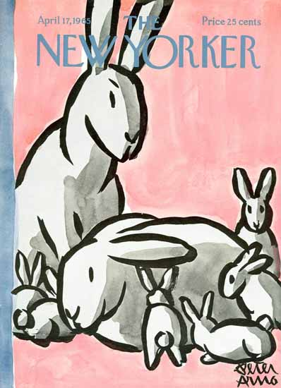 Peter Arno The New Yorker 1965_04_17 Copyright | The New Yorker Graphic Art Covers 1946-1970