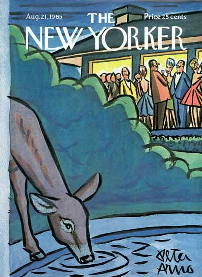 Peter Arno The New Yorker 1965_08_21 Copyright | The New Yorker Graphic Art Covers 1946-1970
