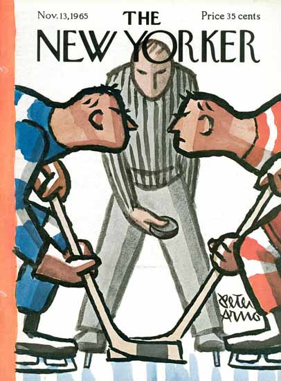 Peter Arno The New Yorker 1965_11_13 Copyright | The New Yorker Graphic Art Covers 1946-1970