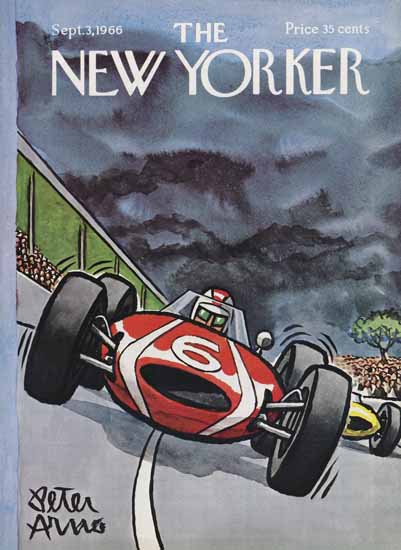 Peter Arno The New Yorker 1966_09_03 Copyright | The New Yorker Graphic Art Covers 1946-1970