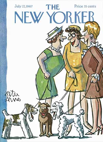 Peter Arno The New Yorker 1967_07_22 Copyright | The New Yorker Graphic Art Covers 1946-1970