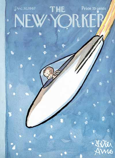 Peter Arno The New Yorker 1967_12_30 Copyright | The New Yorker Graphic Art Covers 1946-1970