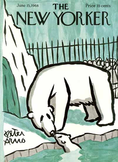 Peter Arno The New Yorker 1968_06_15 Copyright | The New Yorker Graphic Art Covers 1946-1970