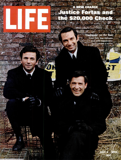 Peter Falk Ben Gazzara J Cassavetes 9 May 1969 Copyright Life Magazine | Life Magazine Color Photo Covers 1937-1970