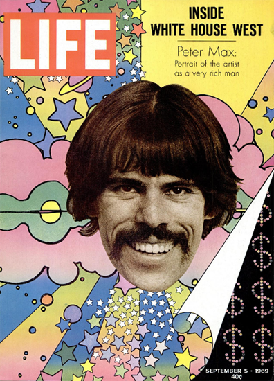 Peter Max Artist as a very rich Man 5 Sep 1969 Copyright Life Magazine | Life Magazine Color Photo Covers 1937-1970