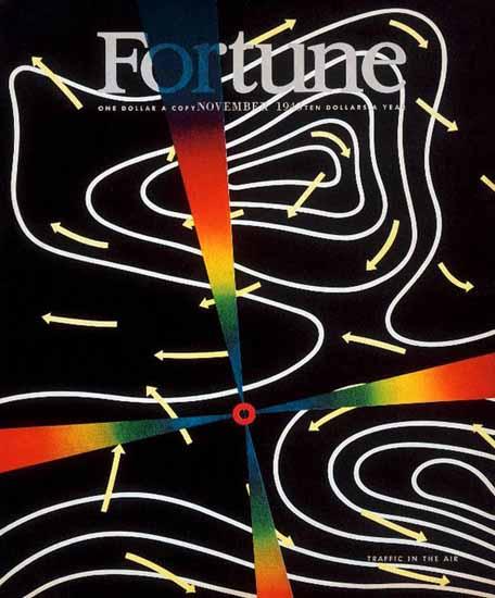 Peter Piening Fortune Magazine November 1943 Copyright | Fortune Magazine Graphic Art Covers 1930-1959
