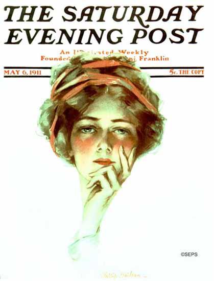 Philip Boileau Artist Saturday Evening Post 1911_05_06 | The Saturday Evening Post Graphic Art Covers 1892-1930