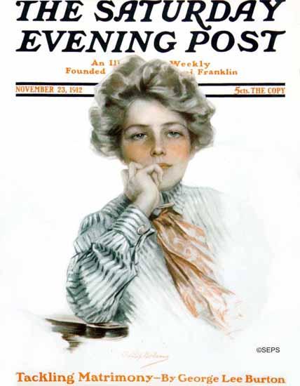 Philip Boileau Artist Saturday Evening Post 1912_11_23   The Saturday Evening Post Graphic Art Covers 1892-1930