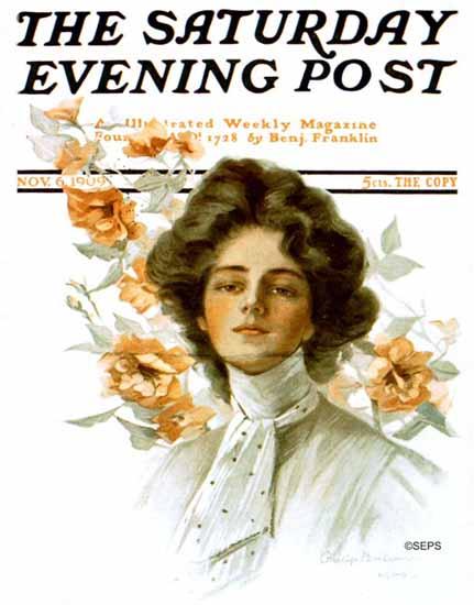 Philip Boileau Cover Artist Saturday Evening Post 1909_11_06   The Saturday Evening Post Graphic Art Covers 1892-1930