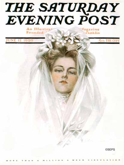 Philip Boileau Saturday Evening Post 1909_06_12 | The Saturday Evening Post Graphic Art Covers 1892-1930