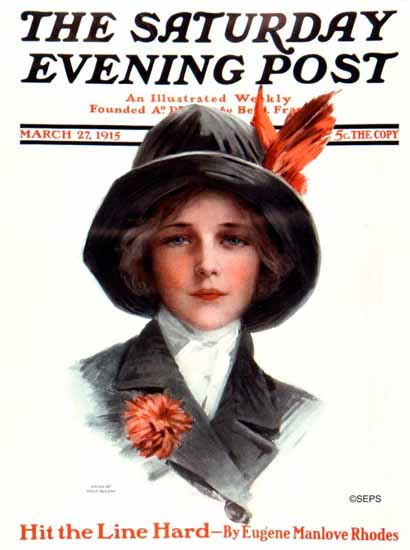 Philip Boileau Saturday Evening Post 1915_03_27 | The Saturday Evening Post Graphic Art Covers 1892-1930
