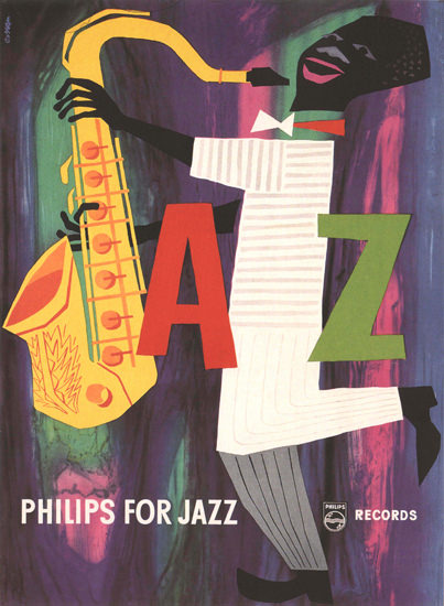 Philips For Jazz Netherlands Records | Vintage Ad and Cover Art 1891-1970