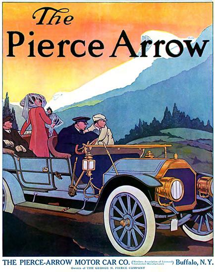 Pierce-Arrow Motor Car 1909 Buffalo | Vintage Cars 1891-1970