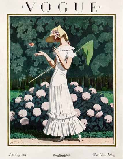 Pierre Brissaud Vogue Cover 1924-05-31 Copyright Sex Appeal | Sex Appeal Vintage Ads and Covers 1891-1970