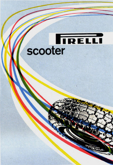 Pirelli Scooter 1957 | Vintage Ad and Cover Art 1891-1970