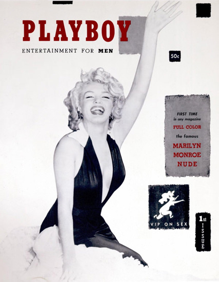 Marilyn Monroe Playboy Copyright 1953  Full Color Nude | Sex Appeal Vintage Ads and Covers 1891-1970