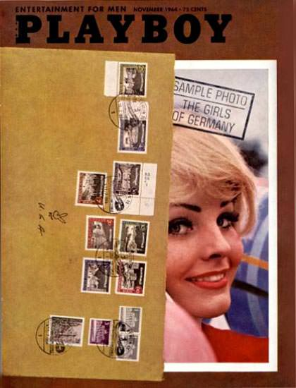 Maria Hoff Playboy Cover Copyright 1964 The Girls Of Germany   Sex Appeal Vintage Ads and Covers 1891-1970