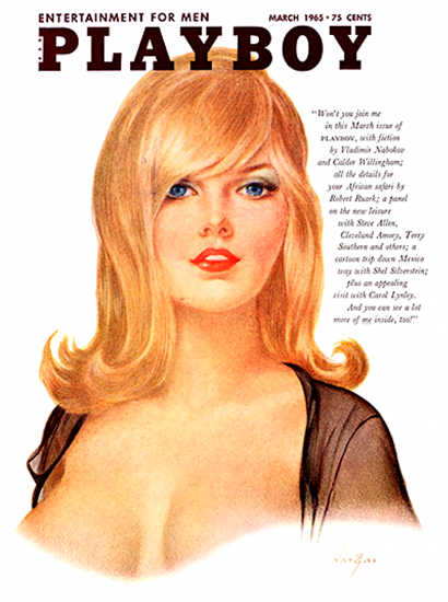 Playboy Magazine Cover 1965-03 Copyright Sex Appeal | Sex Appeal Vintage Ads and Covers 1891-1970
