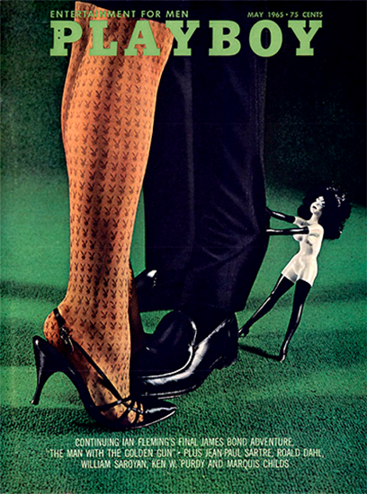 Playboy Magazine Cover 1965-05 Copyright Sex Appeal | Sex Appeal Vintage Ads and Covers 1891-1970