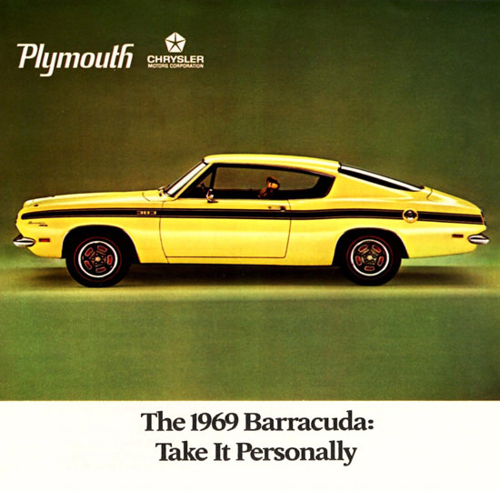 Plymouth Barracuda Fastback 1969 Take It Personally | Vintage Cars 1891-1970