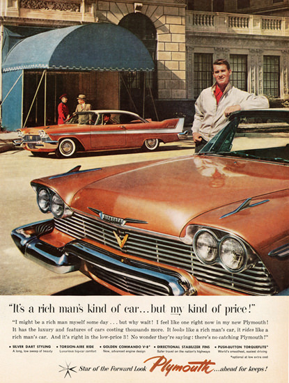 Plymouth Belvedere 1958 Rich Mans Kind | Vintage Cars 1891-1970