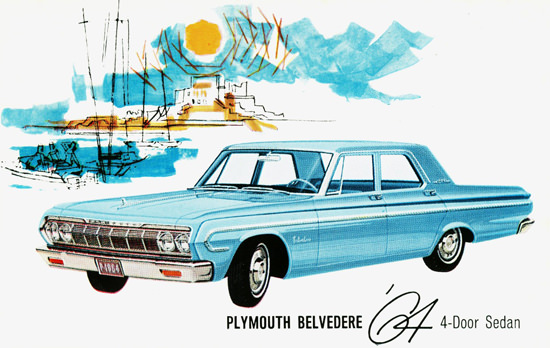 Plymouth Belvedere 4 Door Sedan England 1964 | Vintage Cars 1891-1970