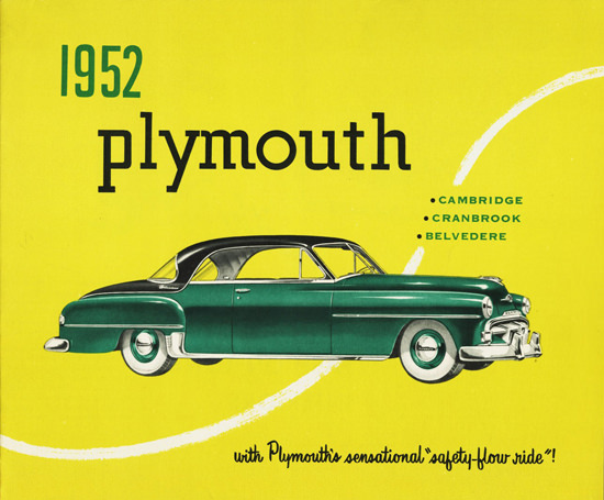 Plymouth Belvedere Hardtop Canada 1952 | Vintage Cars 1891-1970