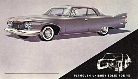 Plymouth Belvedere Sedan 1960 UniBody | Vintage Cars 1891-1970