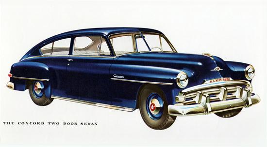 Plymouth Concord Sedan 1952   Vintage Cars 1891-1970