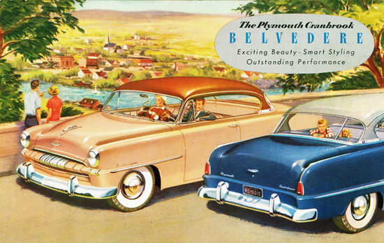 Plymouth Cranbrook Belvedere 1953 | Vintage Cars 1891-1970