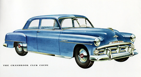 Plymouth Cranbrook Club Coupe 1952 | Vintage Cars 1891-1970