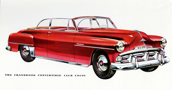 Plymouth Cranbrook Conv Club Coupe 1952 | Vintage Cars 1891-1970
