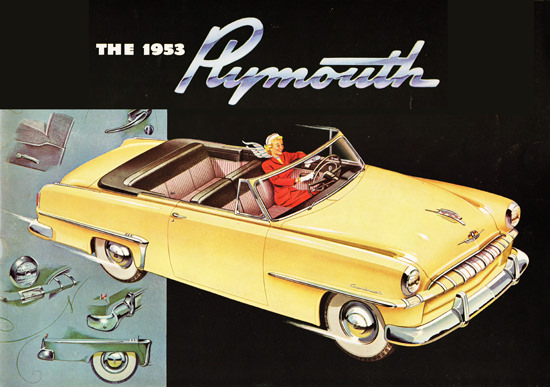 Plymouth Cranbrook Conv Club Coupe 1953 | Vintage Cars 1891-1970