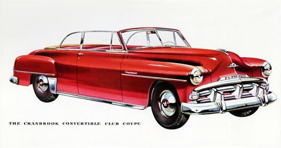 Plymouth Cranbrook Convertible Club 1952 | Vintage Cars 1891-1970