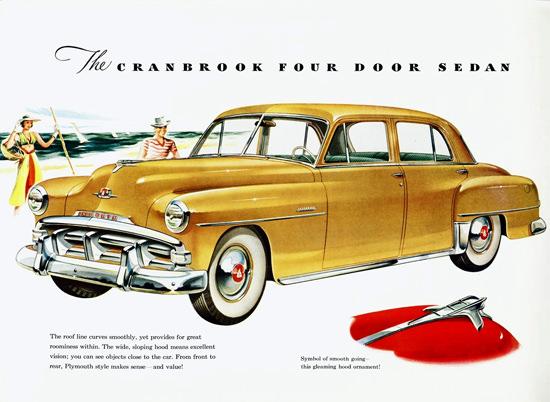 Plymouth Cranbrook Four Door Sedan 1951 | Vintage Cars 1891-1970
