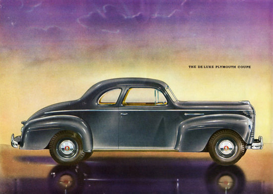 Plymouth De Luxe Coupe 1940 | Vintage Cars 1891-1970