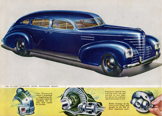 Plymouth De Luxe Seven P Sedan 1939 | Vintage Cars 1891-1970