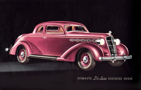 Plymouth DeLuxe Business Coupe 1935 | Vintage Cars 1891-1970