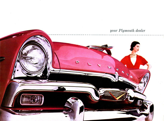 Plymouth Dealer 1956 | Vintage Cars 1891-1970