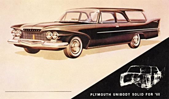 Plymouth Deluxe Suburban 1960 UniBody | Vintage Cars 1891-1970
