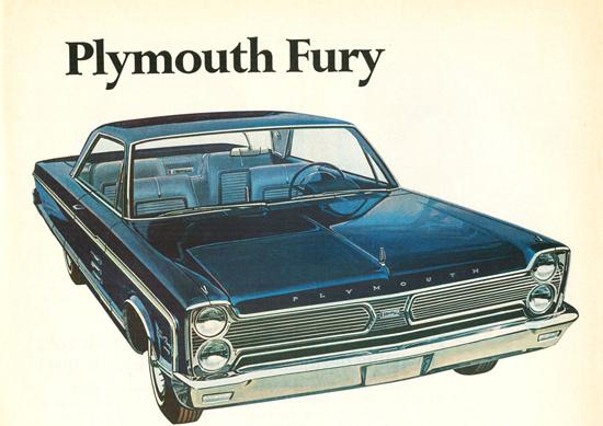 Plymouth Fury 2 Door Hardtop 1966 | Vintage Cars 1891-1970