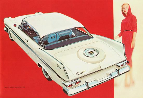Plymouth Fury 2 Door Hardtop Canada 1959 | Vintage Cars 1891-1970