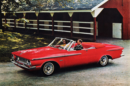 Plymouth Fury Convertible 1962 Horse Stables | Vintage Cars 1891-1970