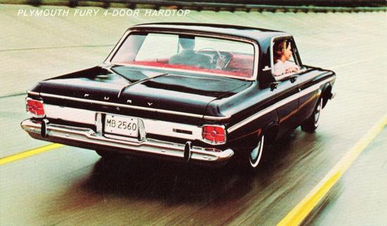 Plymouth Fury Hardtop 1963 Race Track | Vintage Cars 1891-1970