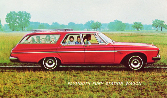 Plymouth Fury Station Wagon 1963 Kids Kids | Vintage Cars 1891-1970