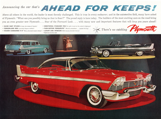 Plymouth Models 1958 Silver Dart Styling | Vintage Cars 1891-1970