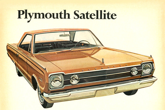 Plymouth Satellite 2 Door Hardtop 1966 | Vintage Cars 1891-1970