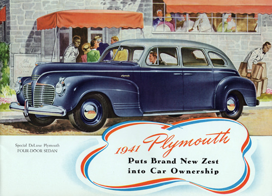 Plymouth Special DeLuxe 1941 Brand New Zest | Vintage Cars 1891-1970